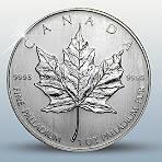 """Anlagemünze """"Maple Leaf"""" aus reinstem Palladium 999,5!"""