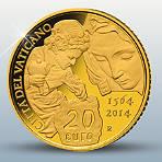Der Goldmünzen-Satz aus dem Vatikans 2014!