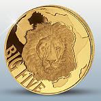 """Das 4er-Goldmünzen-Set """"Der Löwe"""""""